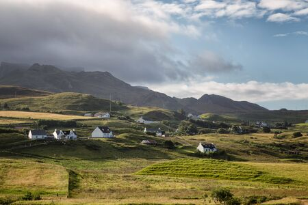 Landscape in the northeast of the Isle of Skye