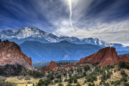 capped: Garden of the Gods