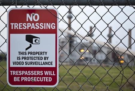 no trespassing: Ning�n signo de allanamiento