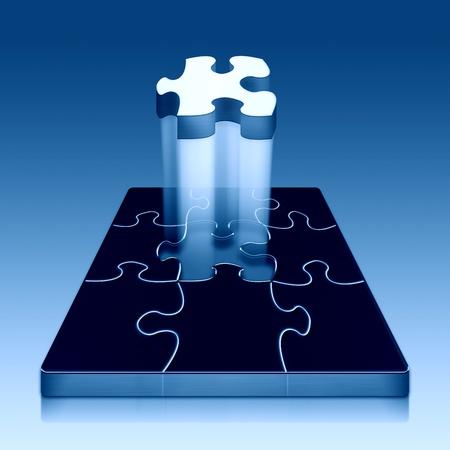 Finishing puzzle