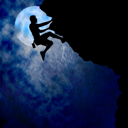 adversity: Courageous Climber