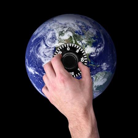 Global Security Stock Photo - 10348686