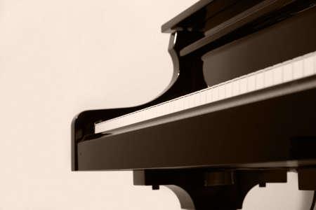 boogie: Pianostudy Stock Photo