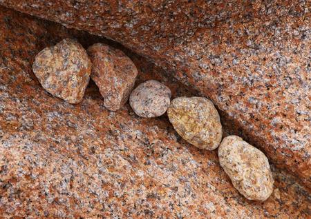 cote de granit rose: Granite stones, Brittany, France