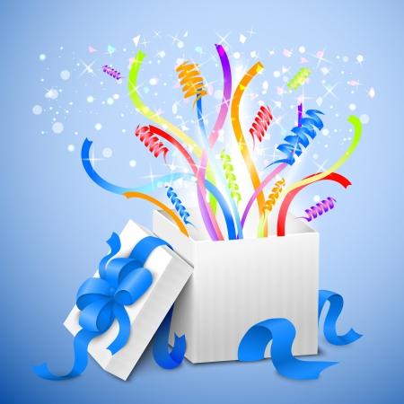 cadeau anniversaire: Cadeau d'anniversaire paquet illustration