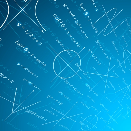 math paper: Mathematics perspective background illustration Illustration