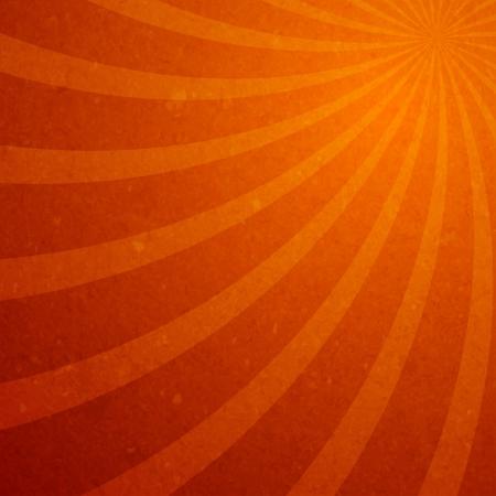 warp: Sunburst spiral wallpaper vector illustration Illustration