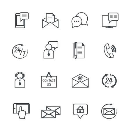 customer service phone: Customer support service icon