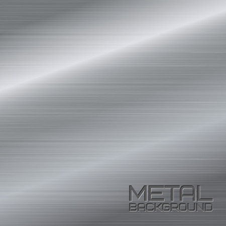 Shiny abstract metal background with steel silver chrome surface