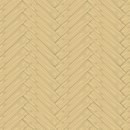 Light wooden or laminate parquet cartoon doodle style texture seamless pattern  Vector