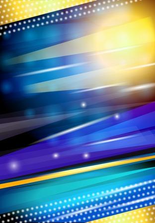 nightlife: Abstract shiny streaky sparkling blue nightlife disco background design print vector illustration