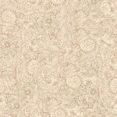 lacework: Retro lacework ornamental seamless pattern abstract elements set vector illustration