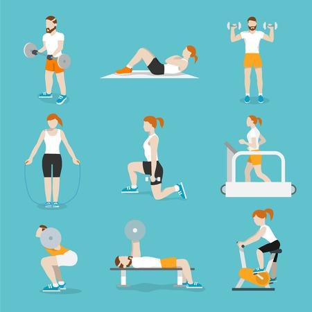 Extrem Fitness Entraînement Cardio Et Le Corps De Mise En Forme D  EA75