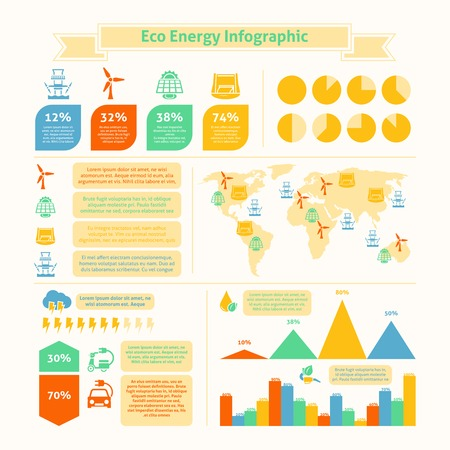 bio fuel: Eco natural green energy and bio fuel production growth statistics infographic presentation layout  chart  abstarct vector illustration