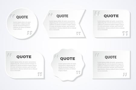 매일로 유명한 작가의 영감을 초월한 따옴표는 웹 추상 격리 된 벡터 일러스트 레이 션에 공유