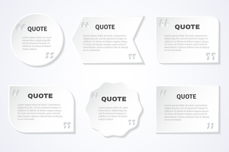 philosophers: Inspirational timeless quotes of famous authors for every day to share on web abstract isolated vector illustration Illustration