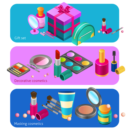 24,900 Makeup Products Stock Vector Illustration And Royalty Free ...