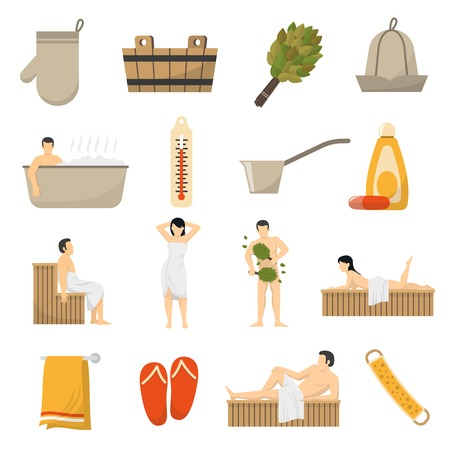 2,390 Sauna Stock Vector Illustration And Royalty Free Sauna Clipart