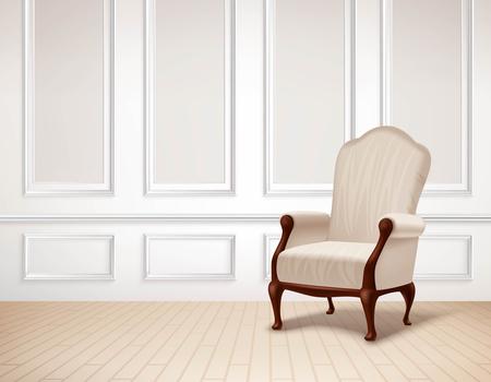 classic interior: Classic Interior Illustration. Interior Vector Design. Classic Room Realistic Illustration. Classic Interior Background. Classic Style Illustration.