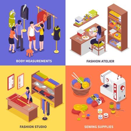 Fashion studio concept