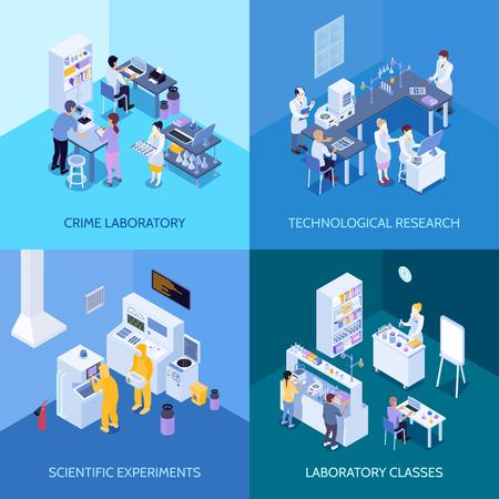 Kriminallabor, chemische Praxis, wissenschaftliche Experimente und technologische Forschung.