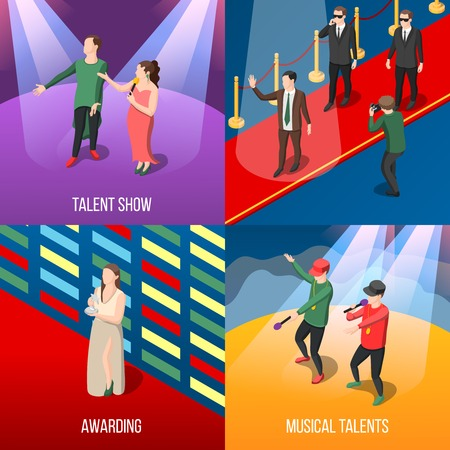 Talents and awards concept