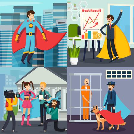 Superhero orthogonal concept
