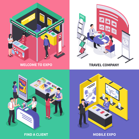 Expo stand exhibition design concept