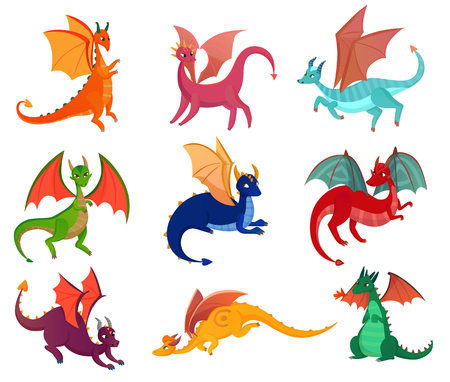 Fairy Dragons Set