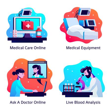 Medicine icons concept Banque d'images - 100514495