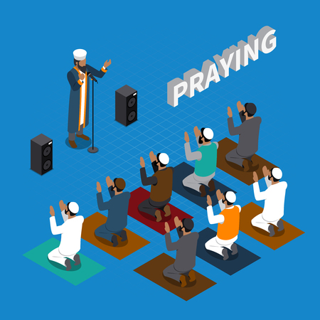 Praying  religious leaders