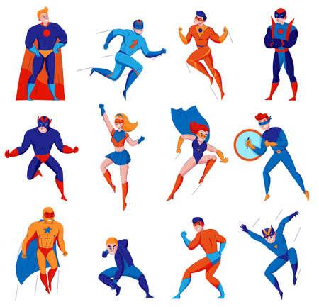 Superheroes cartoon comic strip electronic games characters