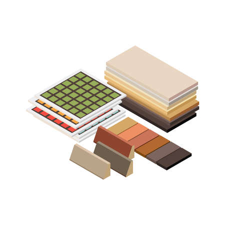 Isometric Construction Materials