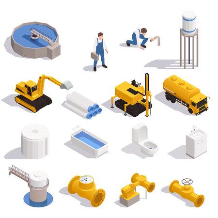 Water Supply Isometric Set