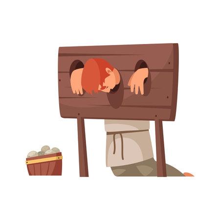 Medieval Person Illustration