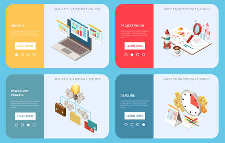 Project Management Banners Collection