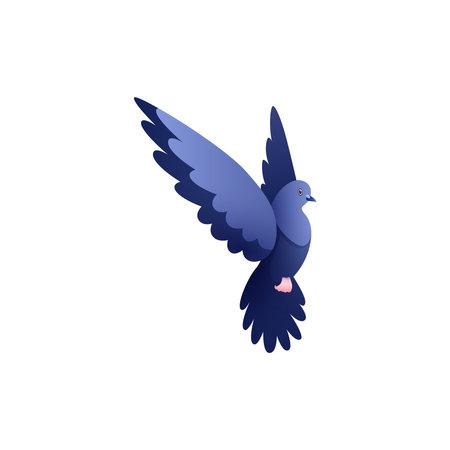 Dove Flat Illustration
