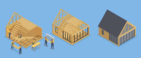 House Frame Building Set