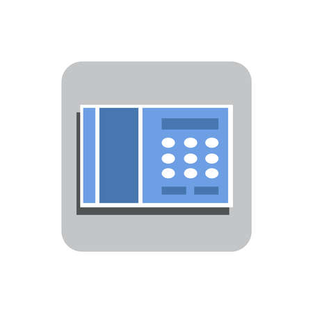Telephone Flat Icon