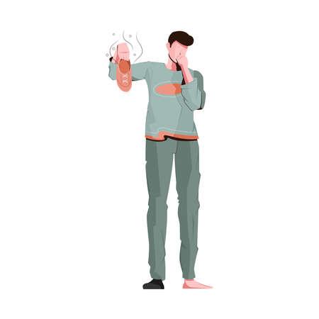 Smelly Shoe Illustration