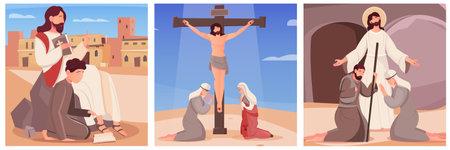 Flat Jesus Compositions