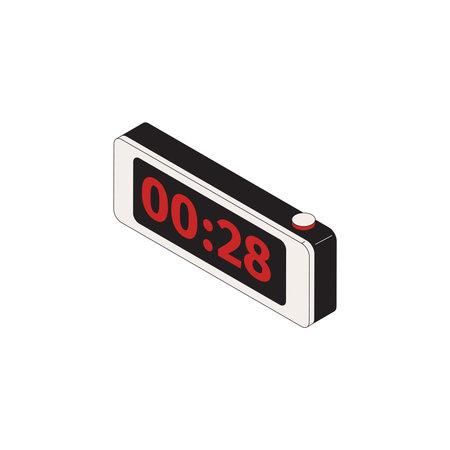 Digital Alarm Clock Composition