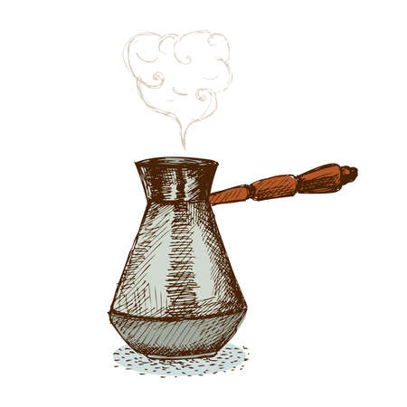 Turkish Pot Illustration
