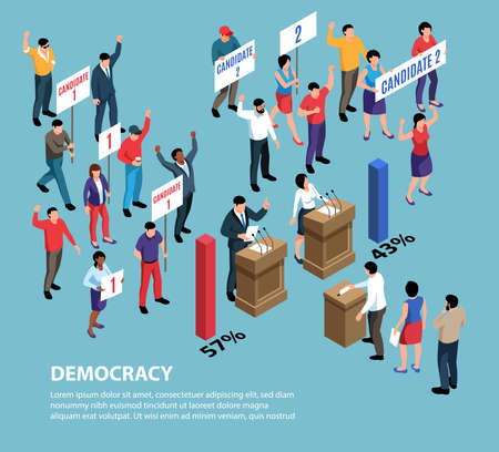 Isometric Democracy System Background