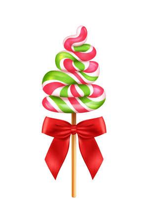 Tree Shaped Lollipop Composition
