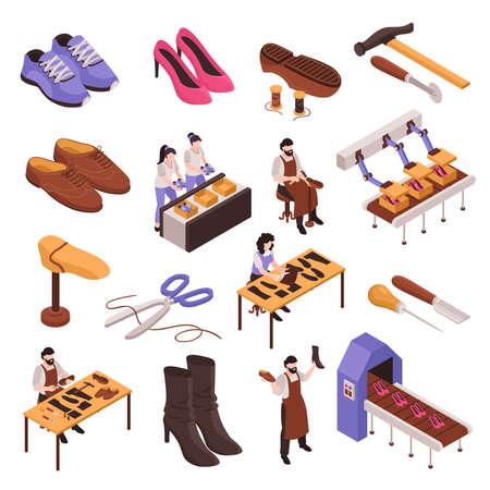 Shoes Repair Manufacturing Set