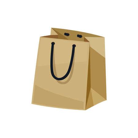 Empty Paper Bag Composition