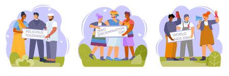 Zero Discrimination Tolerance Compositions
