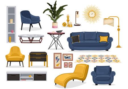 Furniture Interior Decor Set
