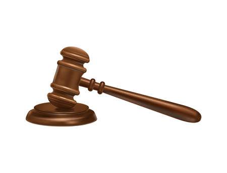 Judge Gavel Hammer Composition